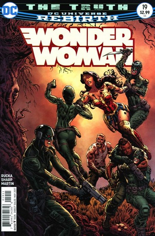 Cover of Wonder Woman (Vol 5) #19. One of 250,000 Vintage American Comics on sale from Krypton!