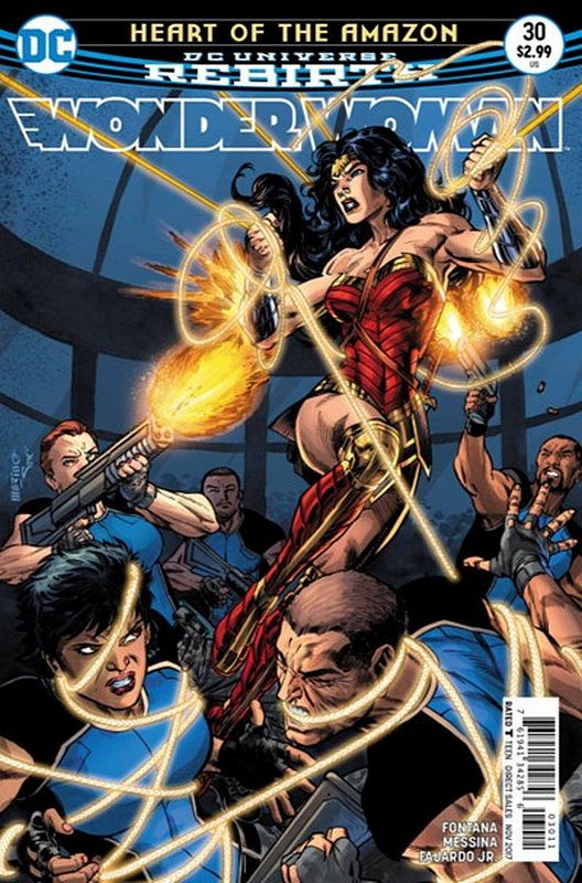 Cover of Wonder Woman (Vol 5) #30. One of 250,000 Vintage American Comics on sale from Krypton!
