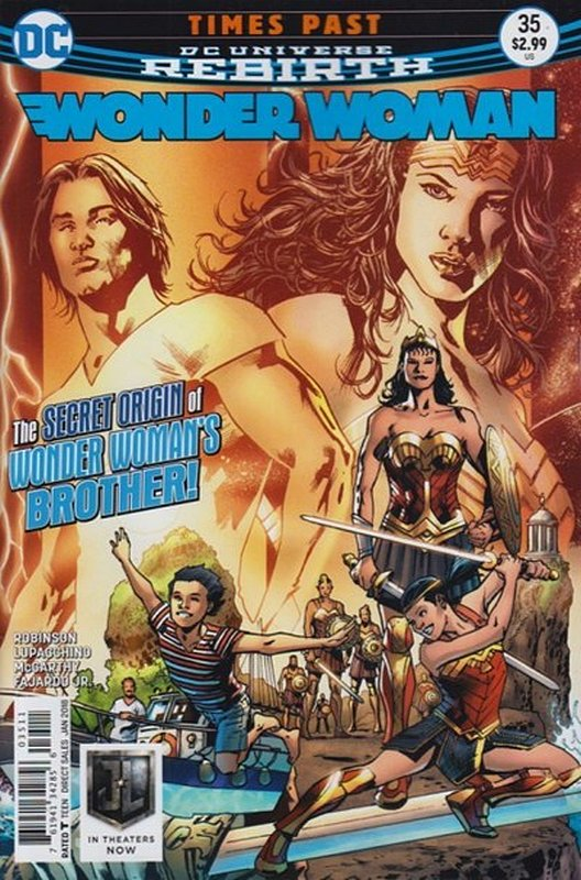 Cover of Wonder Woman (Vol 5) #35. One of 250,000 Vintage American Comics on sale from Krypton!