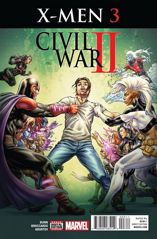Cover of Civil War II X-Men (2016 Ltd) #3. One of 250,000 Vintage American Comics on sale from Krypton!