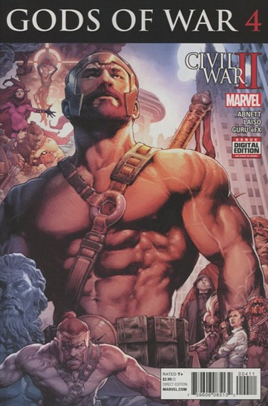 Cover of Civil War II Gods of War (2016 Ltd) #4. One of 250,000 Vintage American Comics on sale from Krypton!