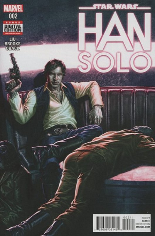 Cover of Star Wars: Han Solo (2016 Ltd) #2. One of 250,000 Vintage American Comics on sale from Krypton!