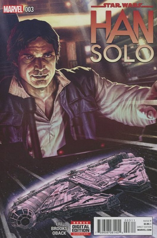 Cover of Star Wars: Han Solo (2016 Ltd) #3. One of 250,000 Vintage American Comics on sale from Krypton!