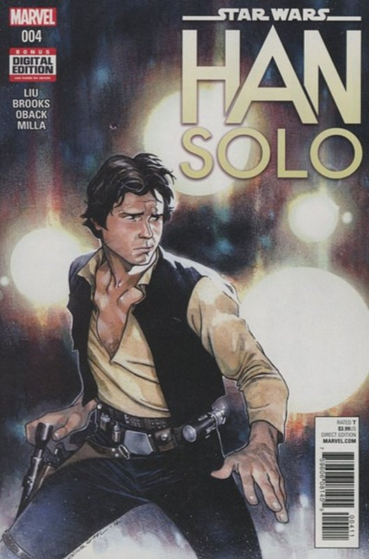 Cover of Star Wars: Han Solo (2016 Ltd) #4. One of 250,000 Vintage American Comics on sale from Krypton!