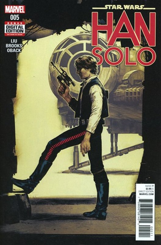 Cover of Star Wars: Han Solo (2016 Ltd) #5. One of 250,000 Vintage American Comics on sale from Krypton!