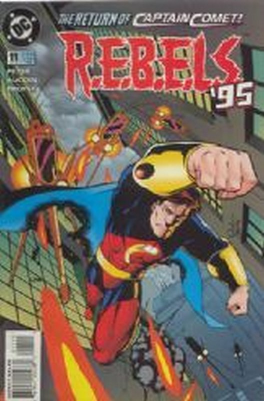 Cover of R.E.B.E.L.S 94-96 #11. One of 250,000 Vintage American Comics on sale from Krypton!