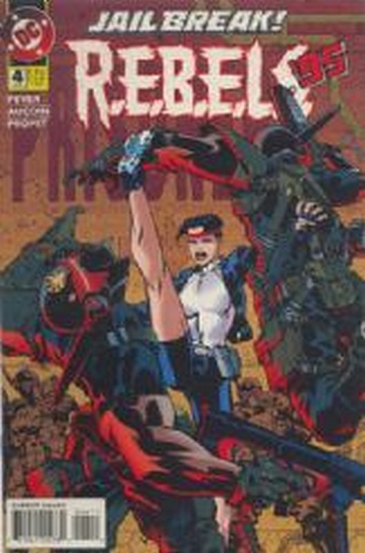 Cover of R.E.B.E.L.S 94-96 #4. One of 250,000 Vintage American Comics on sale from Krypton!
