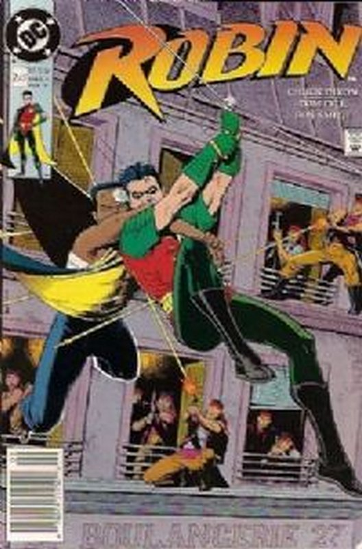 Cover of Robin (1991 Ltd) #2. One of 250,000 Vintage American Comics on sale from Krypton!