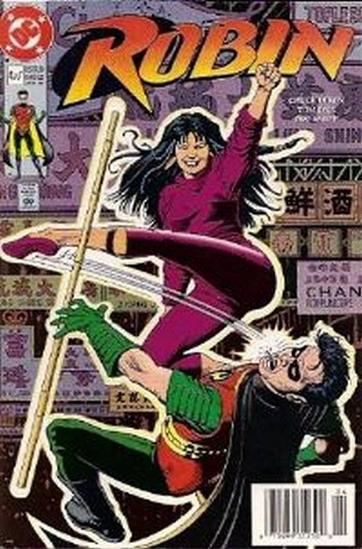 Cover of Robin (1991 Ltd) #4. One of 250,000 Vintage American Comics on sale from Krypton!