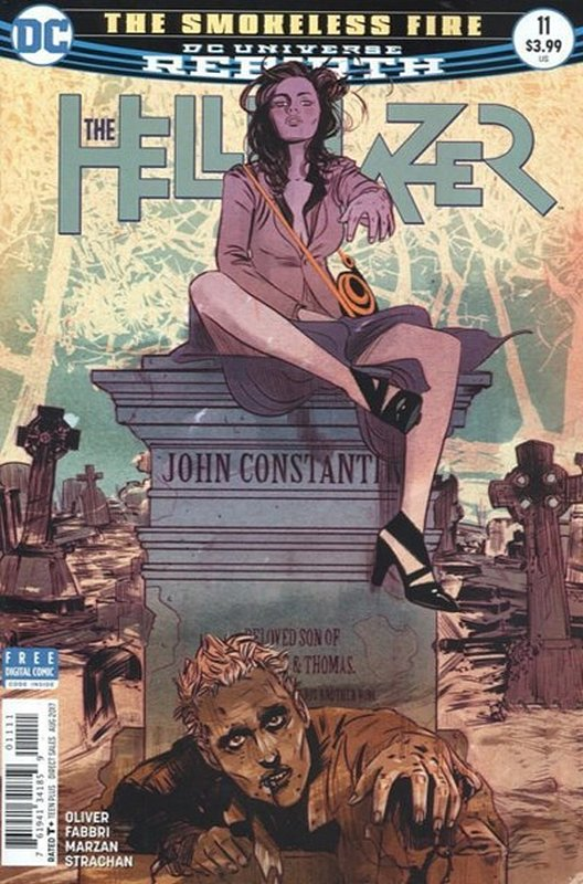 Cover of Hellblazer (Vol 2) #11. One of 250,000 Vintage American Comics on sale from Krypton!