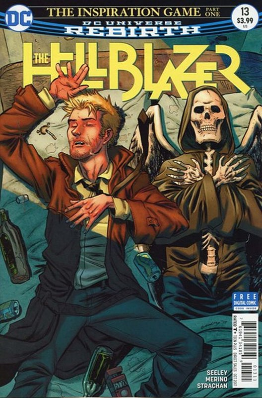 Cover of Hellblazer (Vol 2) #13. One of 250,000 Vintage American Comics on sale from Krypton!