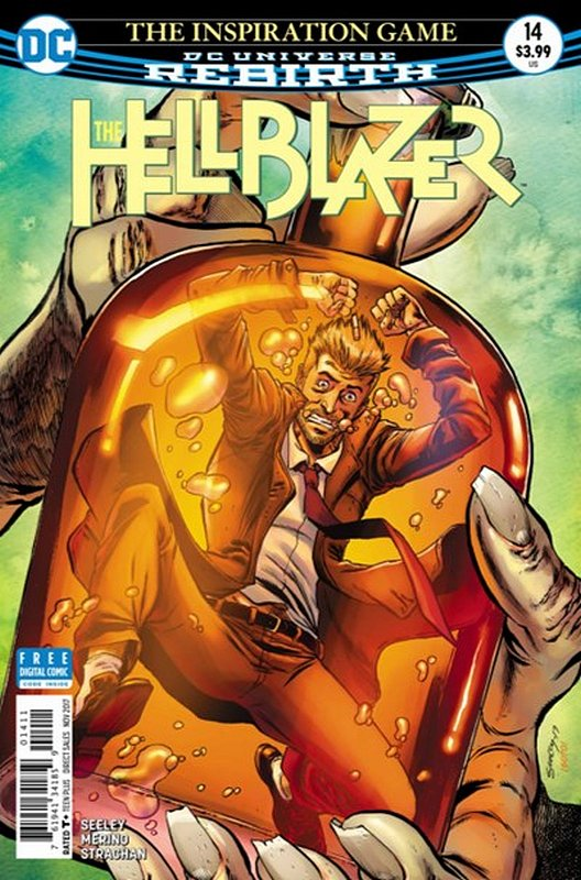 Cover of Hellblazer (Vol 2) #14. One of 250,000 Vintage American Comics on sale from Krypton!