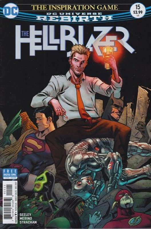 Cover of Hellblazer (Vol 2) #15. One of 250,000 Vintage American Comics on sale from Krypton!
