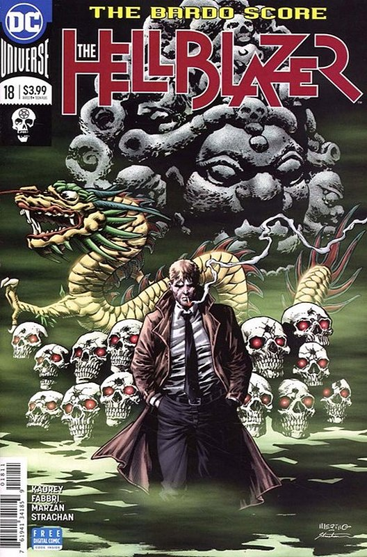 Cover of Hellblazer (Vol 2) #18. One of 250,000 Vintage American Comics on sale from Krypton!