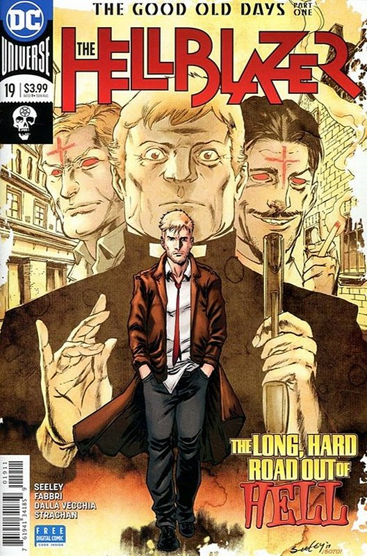 Cover of Hellblazer (Vol 2) #19. One of 250,000 Vintage American Comics on sale from Krypton!