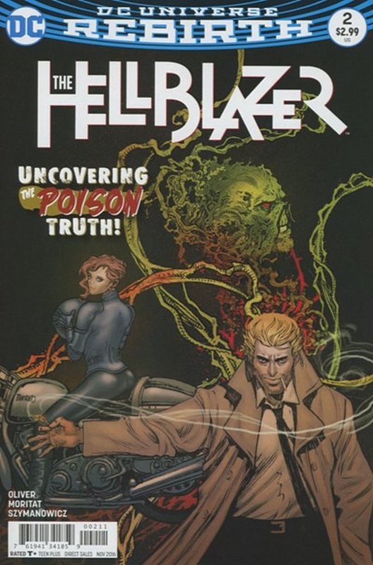 Cover of Hellblazer (Vol 2) #2. One of 250,000 Vintage American Comics on sale from Krypton!
