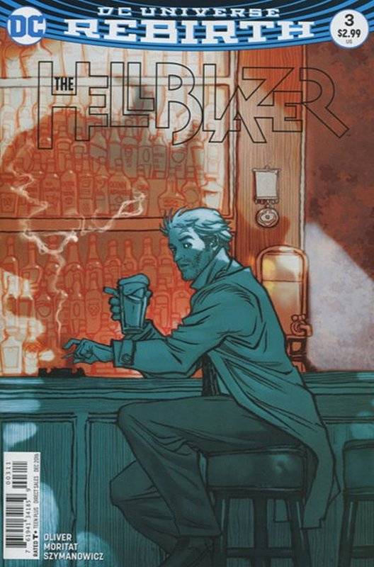 Cover of Hellblazer (Vol 2) #3. One of 250,000 Vintage American Comics on sale from Krypton!
