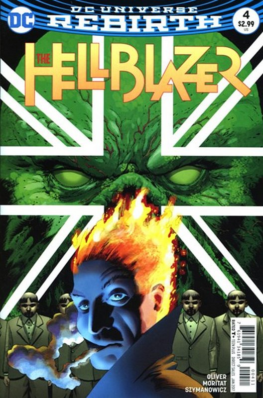 Cover of Hellblazer (Vol 2) #4. One of 250,000 Vintage American Comics on sale from Krypton!