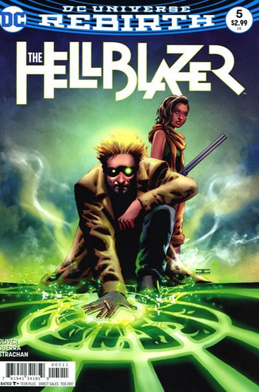Cover of Hellblazer (Vol 2) #5. One of 250,000 Vintage American Comics on sale from Krypton!