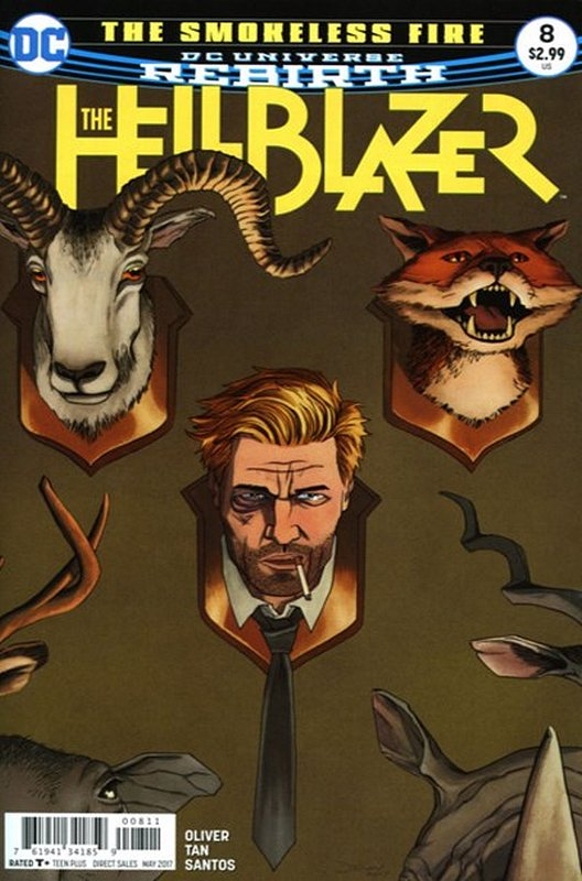 Cover of Hellblazer (Vol 2) #8. One of 250,000 Vintage American Comics on sale from Krypton!