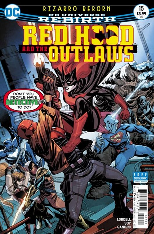 Cover of Red Hood & The Outlaws (Vol 2) #15. One of 250,000 Vintage American Comics on sale from Krypton!