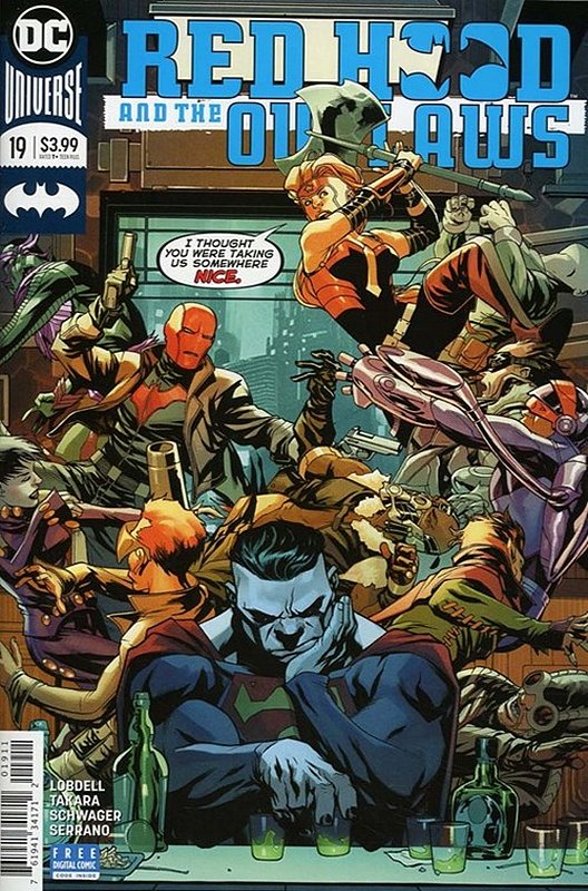 Cover of Red Hood & The Outlaws (Vol 2) #19. One of 250,000 Vintage American Comics on sale from Krypton!