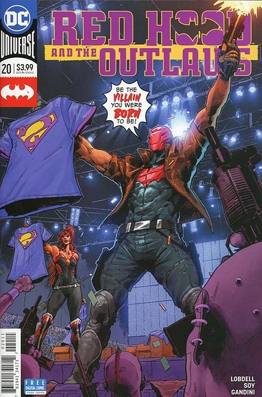 Cover of Red Hood & The Outlaws (Vol 2) #20. One of 250,000 Vintage American Comics on sale from Krypton!