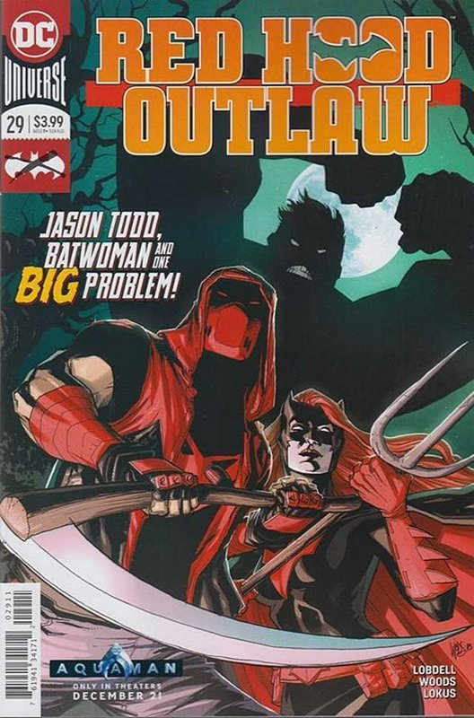 Cover of Red Hood & The Outlaws (Vol 2) #29. One of 250,000 Vintage American Comics on sale from Krypton!