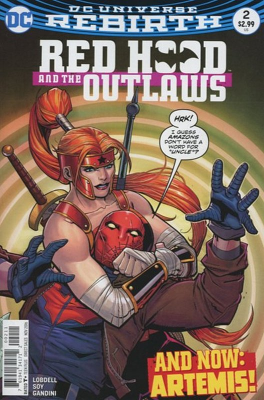 Cover of Red Hood & The Outlaws (Vol 2) #2. One of 250,000 Vintage American Comics on sale from Krypton!