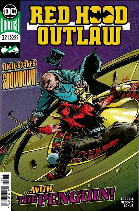 Cover of Red Hood & The Outlaws (Vol 2) #32. One of 250,000 Vintage American Comics on sale from Krypton!