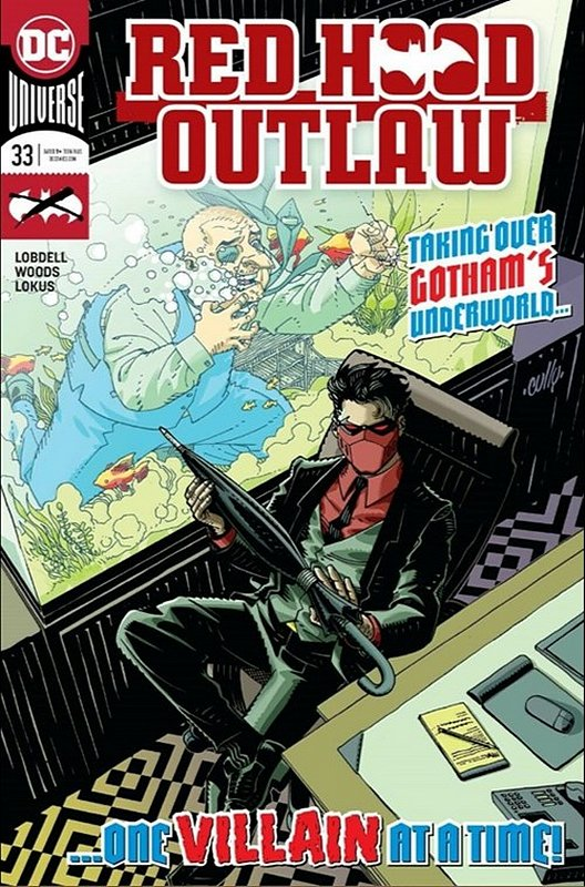 Cover of Red Hood & The Outlaws (Vol 2) #33. One of 250,000 Vintage American Comics on sale from Krypton!