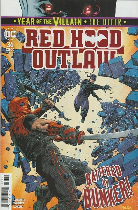 Cover of Red Hood & The Outlaws (Vol 2) #36. One of 250,000 Vintage American Comics on sale from Krypton!