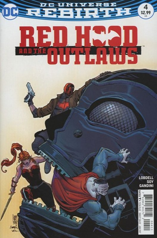 Cover of Red Hood & The Outlaws (Vol 2) #4. One of 250,000 Vintage American Comics on sale from Krypton!