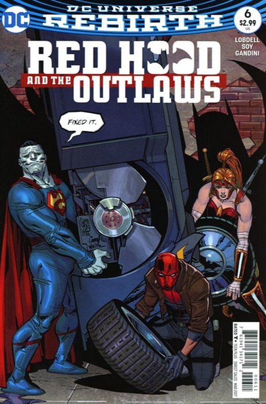 Cover of Red Hood & The Outlaws (Vol 2) #6. One of 250,000 Vintage American Comics on sale from Krypton!