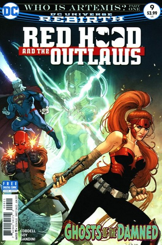Cover of Red Hood & The Outlaws (Vol 2) #9. One of 250,000 Vintage American Comics on sale from Krypton!