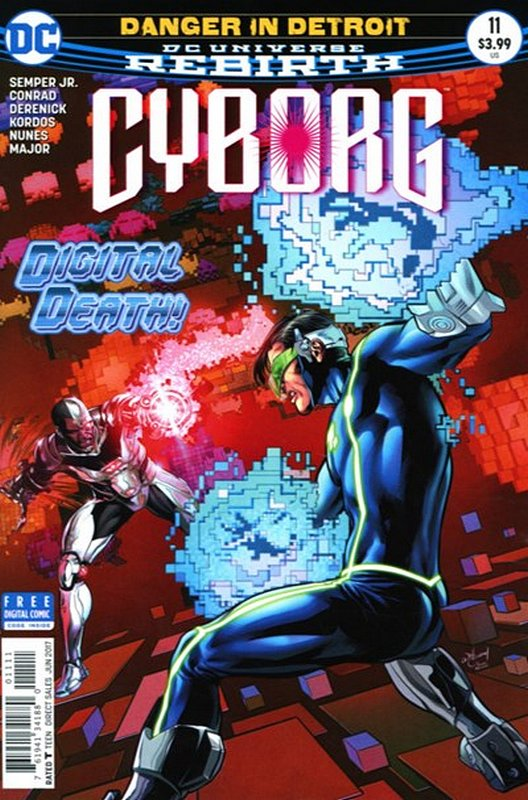 Cover of Cyborg (Vol 2) #11. One of 250,000 Vintage American Comics on sale from Krypton!
