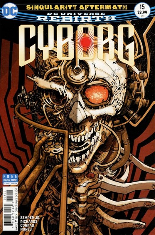 Cover of Cyborg (Vol 2) #15. One of 250,000 Vintage American Comics on sale from Krypton!