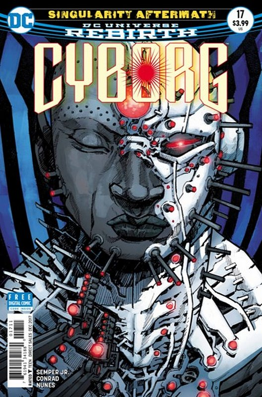 Cover of Cyborg (Vol 2) #17. One of 250,000 Vintage American Comics on sale from Krypton!