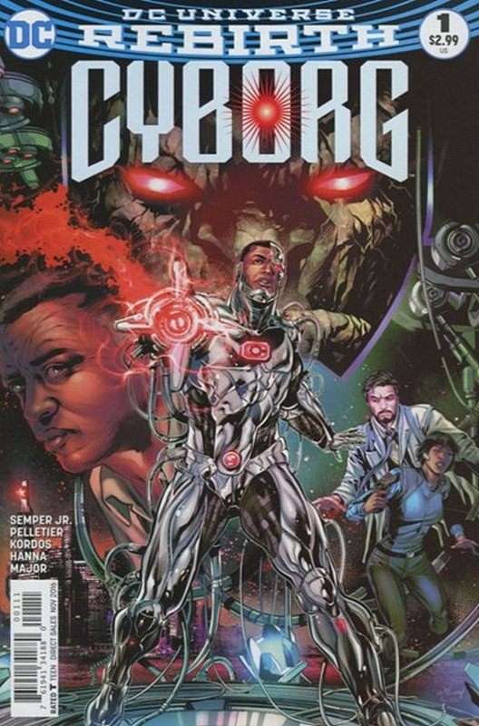 Cover of Cyborg (Vol 2) #1. One of 250,000 Vintage American Comics on sale from Krypton!