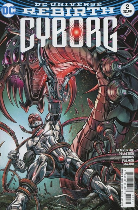 Cover of Cyborg (Vol 2) #2. One of 250,000 Vintage American Comics on sale from Krypton!