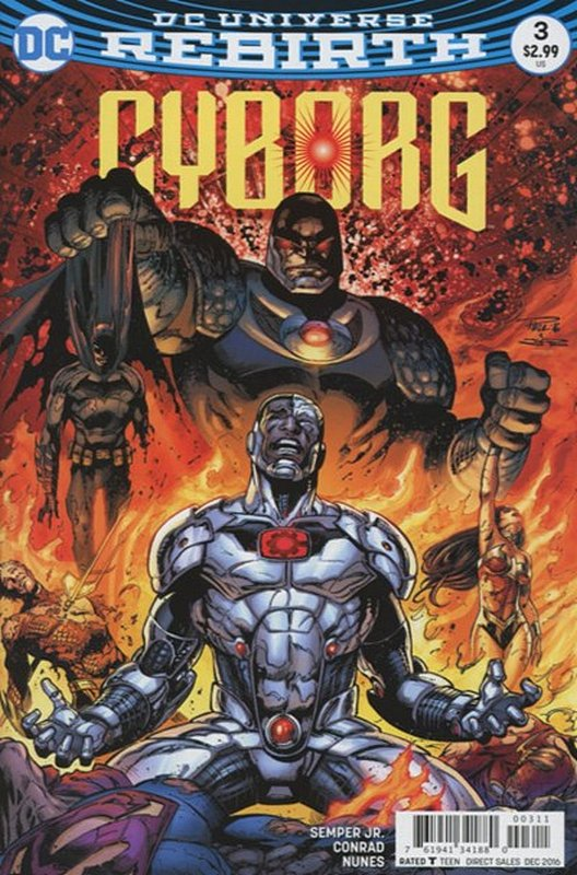 Cover of Cyborg (Vol 2) #3. One of 250,000 Vintage American Comics on sale from Krypton!