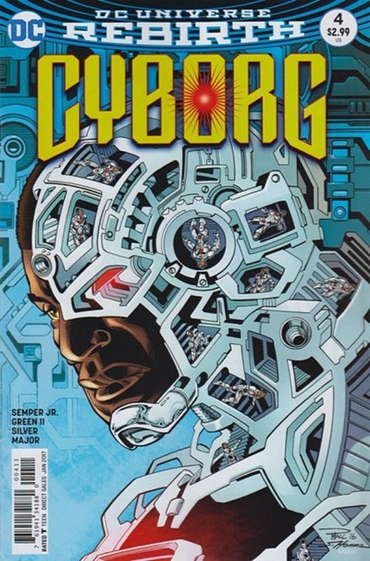 Cover of Cyborg (Vol 2) #4. One of 250,000 Vintage American Comics on sale from Krypton!