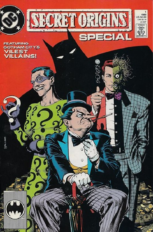 Cover of Secret Origins Special (1989 One Shot) #1. One of 250,000 Vintage American Comics on sale from Krypton!