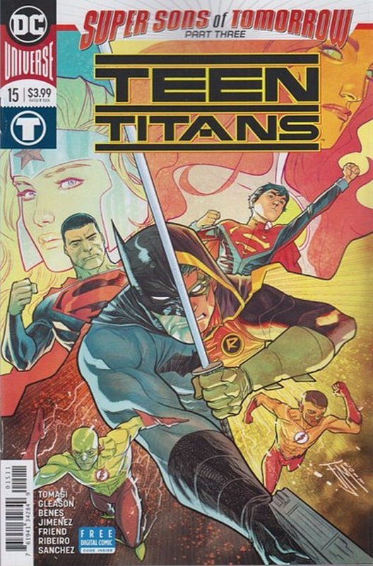 Cover of Teen Titans (Vol 6) #15. One of 250,000 Vintage American Comics on sale from Krypton!