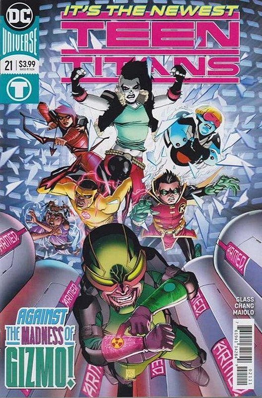 Cover of Teen Titans (Vol 6) #21. One of 250,000 Vintage American Comics on sale from Krypton!