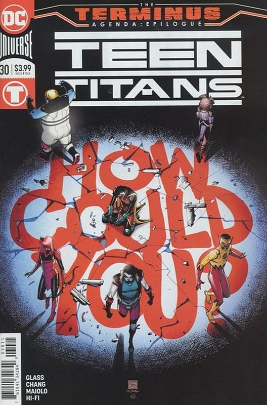 Cover of Teen Titans (Vol 6) #30. One of 250,000 Vintage American Comics on sale from Krypton!