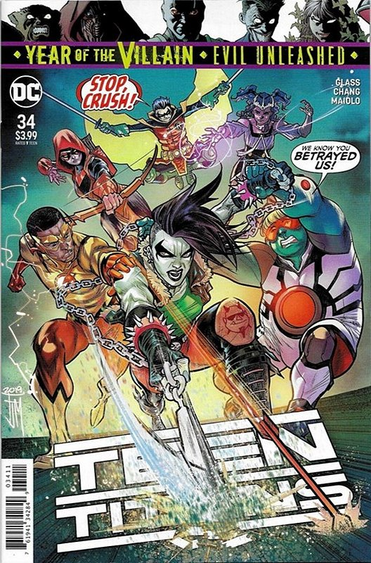 Cover of Teen Titans (Vol 6) #34. One of 250,000 Vintage American Comics on sale from Krypton!