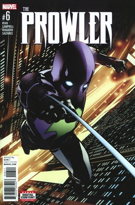 Cover of Prowler (Vol 1) #6. One of 250,000 Vintage American Comics on sale from Krypton!