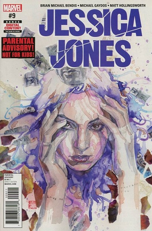 Cover of Jessica Jones (Vol 1) #9. One of 250,000 Vintage American Comics on sale from Krypton!