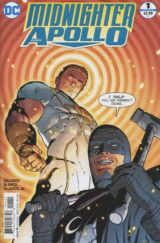 Cover of Midnighter & Apollo (2016 Ltd) #1. One of 250,000 Vintage American Comics on sale from Krypton!